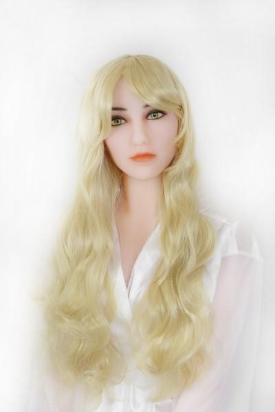 Perücke - blond, lange Haare