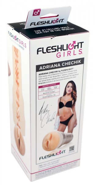 Masturbator Fleshlight - Adriana Chechik