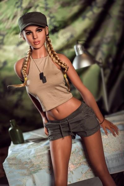 Real Doll Jeanelle - 166 cm C Cup, inkl. Gel gefüllter Brust, Standfunktion & beweglicher Schulter, Auf Lager!