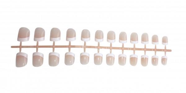 Fingernagel Set - French Manicure