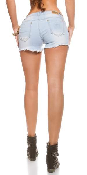 Jeans Shorts - used Look