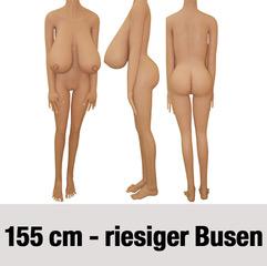 156cm-riesiger-Busen