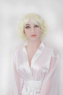 Perücke - lockig blond