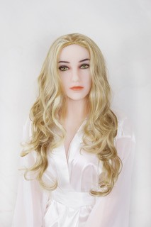 Perücke - blonde Locken