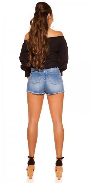 Jeans Skorts - used Look