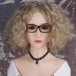 Perücke - blond mit vielen Locken