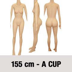 155cm-A-cup