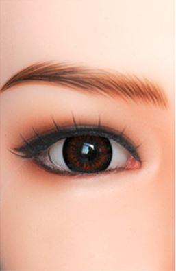 Braune Augen - passend für alle Real Dolls aus TPE